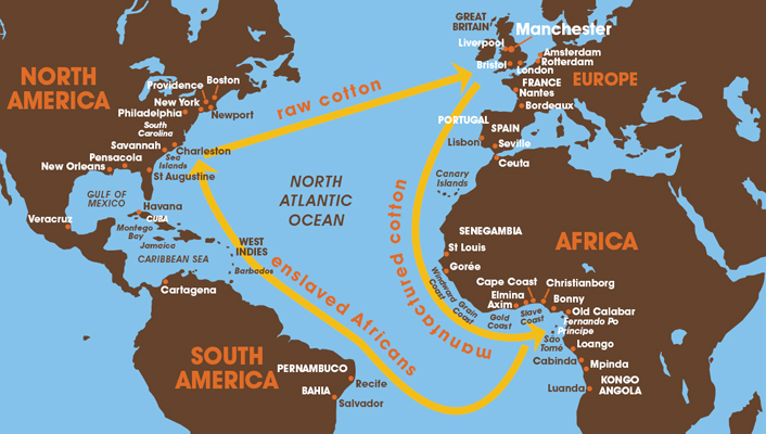 atlantic system trade products Medieval trade routes across the sahara  trade across the sahara would have been nearly impossible  origins of the trans-atlantic slave trade.